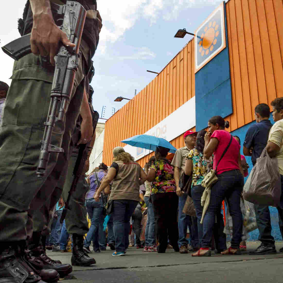 Rich In Oil, Venezuela Is Now Poor In Most Everything Else
