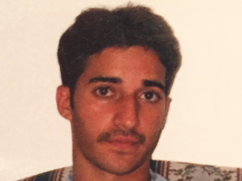 An undated photo provided by Yusuf Syed shows his brother, Adnan Syed. Adnan Syed, now 33, was the subject of a popular public radio podcast that raised questions about his guilt. A Maryland court on Saturday granted his request for an appeal. (Uncredited/AP)