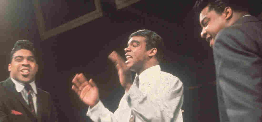 The Isley Brothers performing on television in 1964.