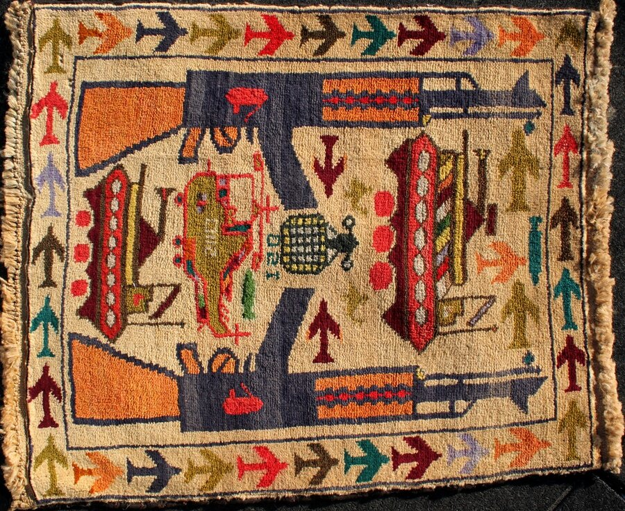 War Rugs Reflect Afghanistan S Long History With Conflict