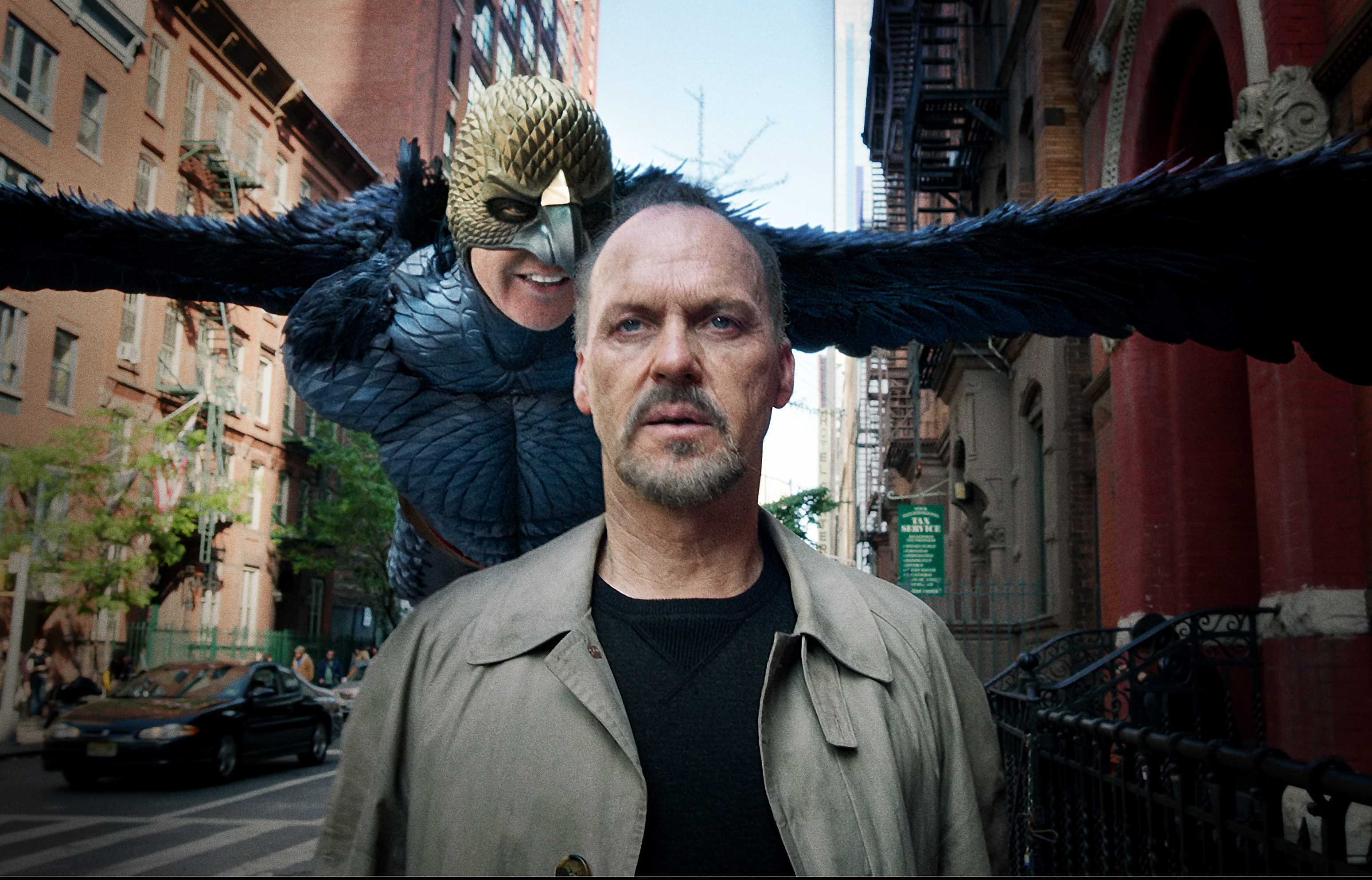 Cena do filme Birdman, com Michael Keaton