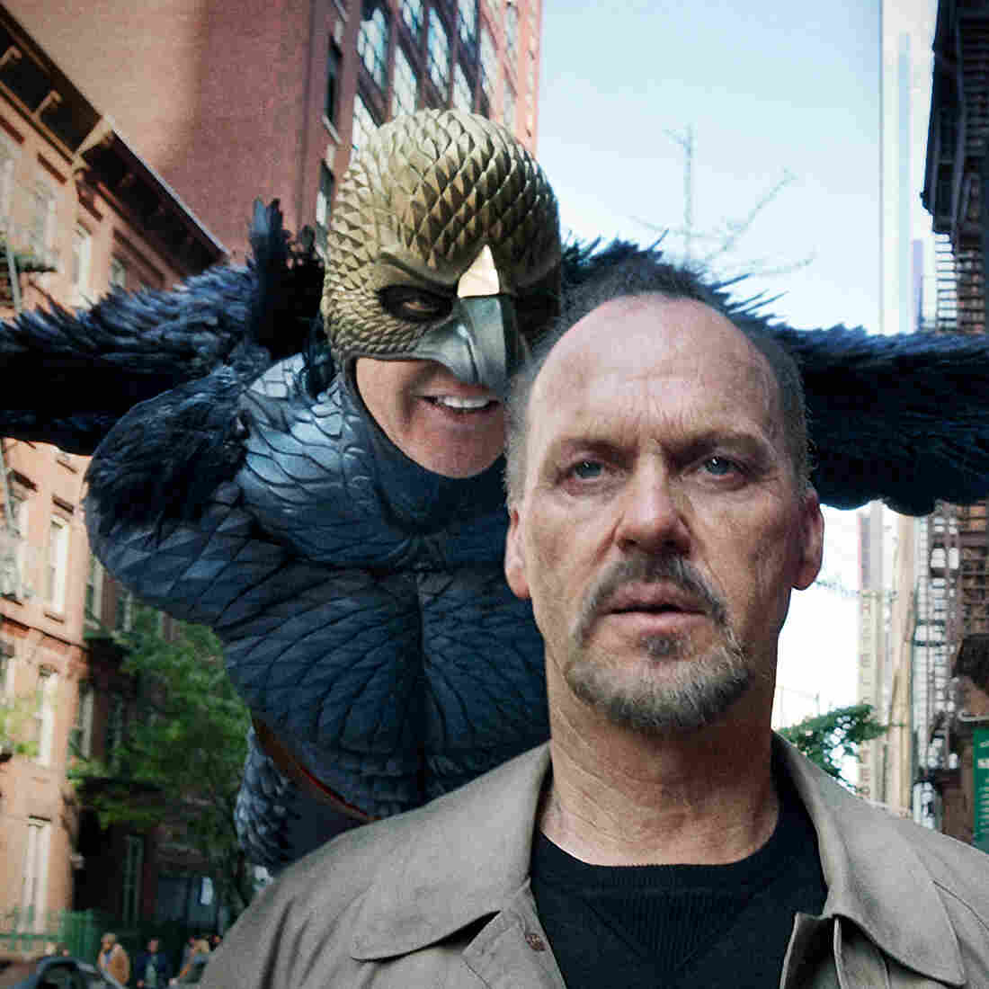 From 'Batman' To 'Birdman,' Michael Keaton Knows Suits And Superheroes