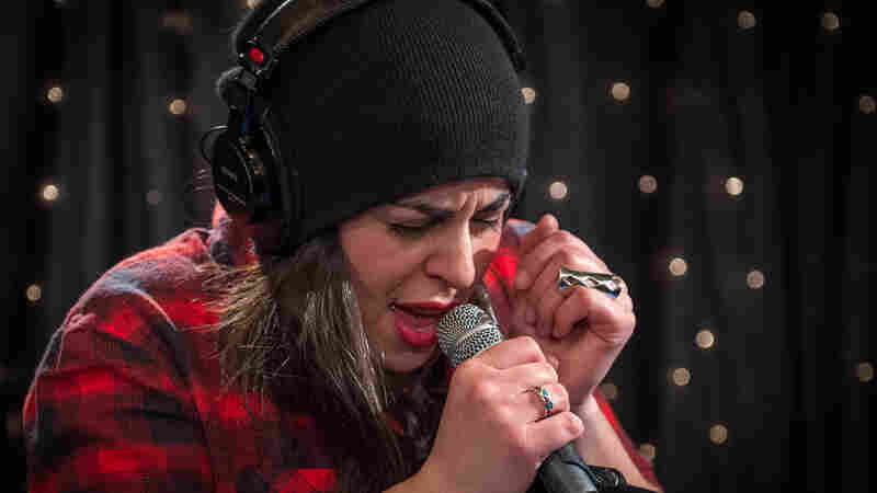 Natasha Kmeto performs live for Audioasis on KEXP.