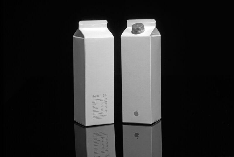 iMilk by Apple.