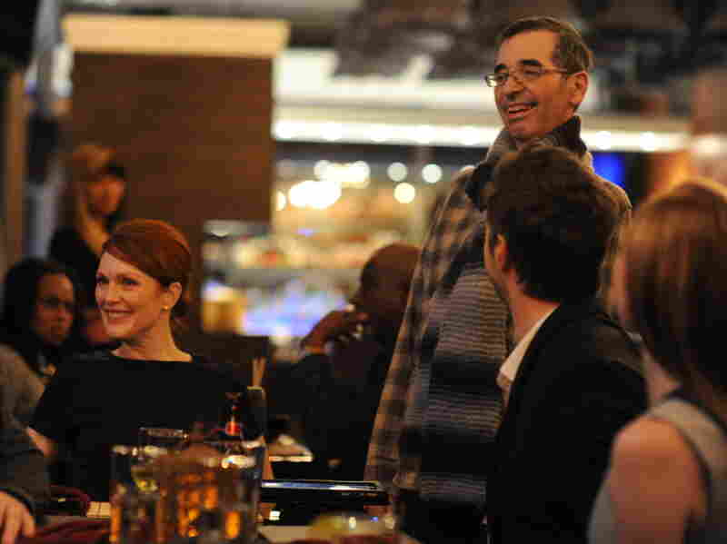 Despite his ALS diagnosis, Richard Glatzer (right) says he was on set every day during the filming of Still Alice.