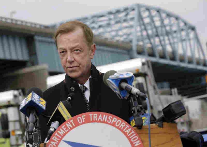 New Jersey Transportation Commissioner Jamie Fox says it's time to raise the state's gas tax, with gas prices low and critical transportation projects mounting.
