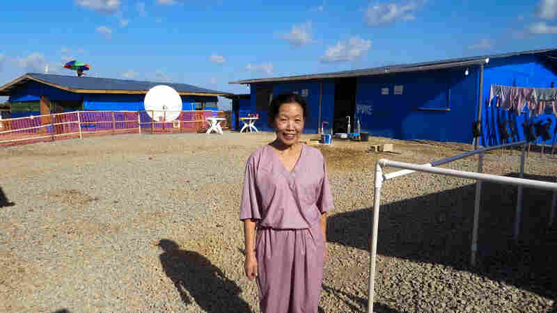 Dr. Kwan Kew Lai volunteered for six weeks at an Ebola treatment center run by International Medical Corps in Bong, Liberia.