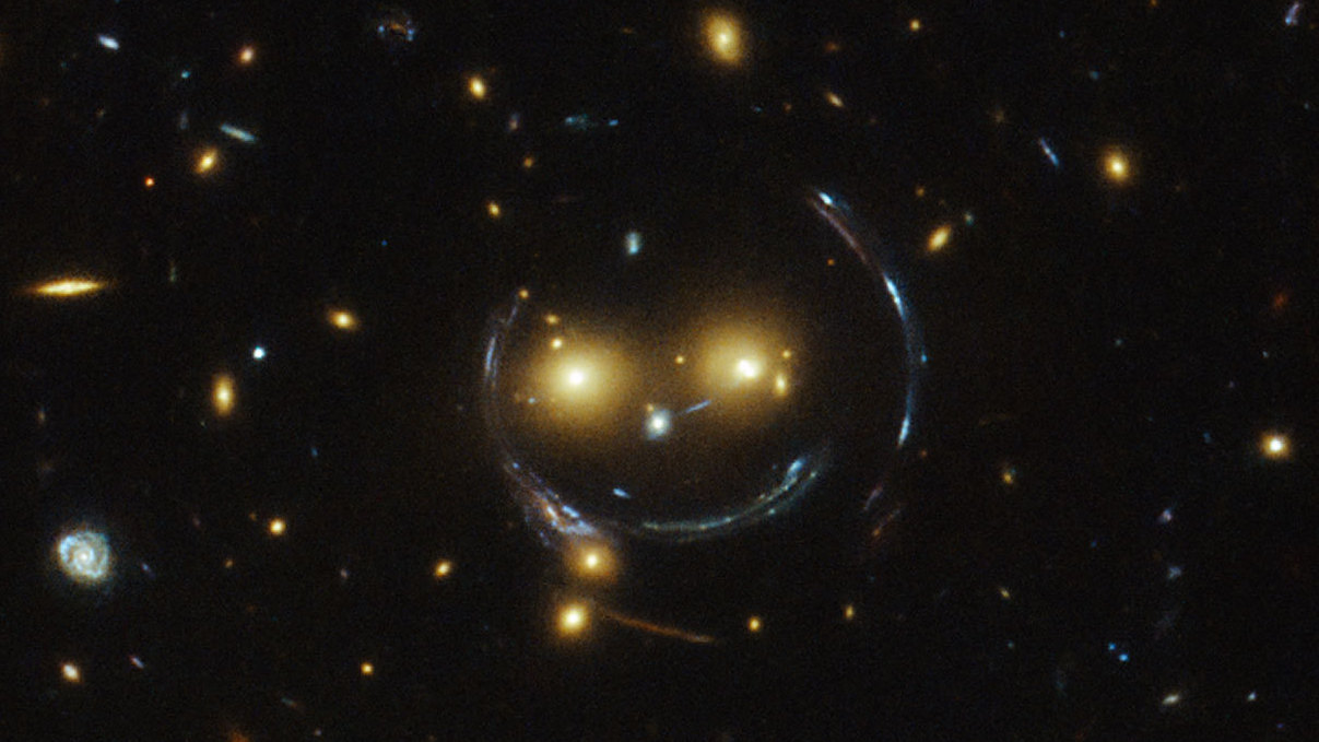 From The Cold Depths Of Space, A Smile Emerges