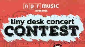 Tiny Desk Concert Contest poster.