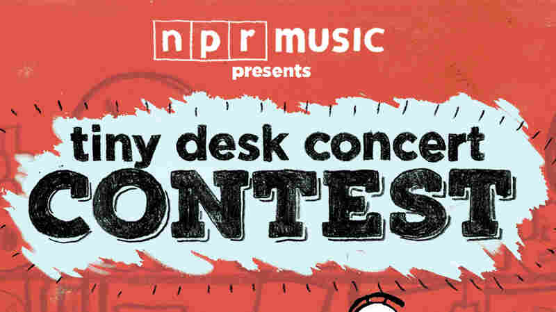 Tiny Desk Concert Contest poster.
