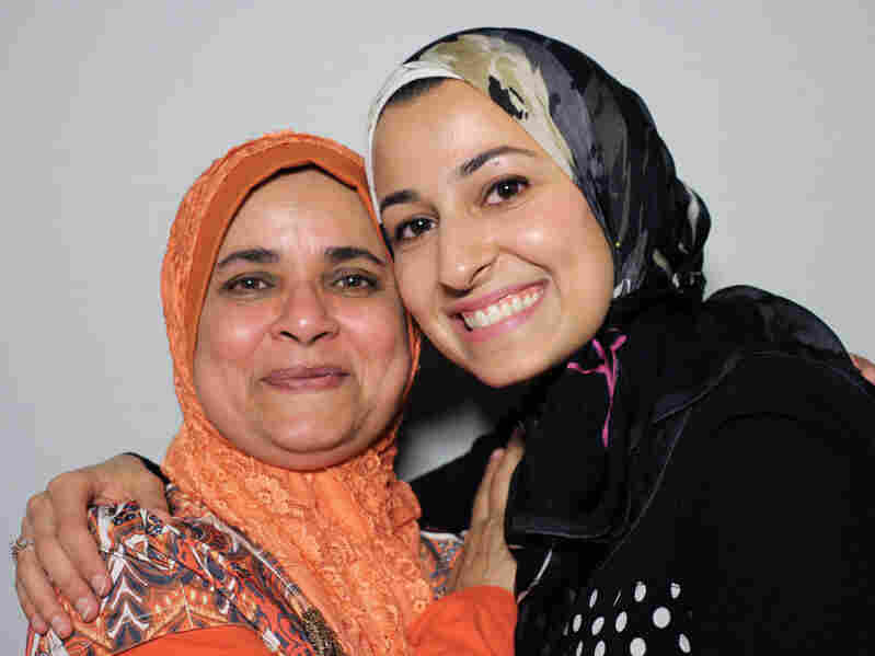 Yusor Abu-Salha was one of the victims in Tuesday's shooting in Chapel Hill, N.C. She sat down with her teacher, Mussarut Jabeen, at StoryCorps last May.