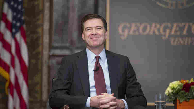 FBI Director James Comey tackled the topic of race and law enforcement at Georgetown University in Washington on Thursday.
