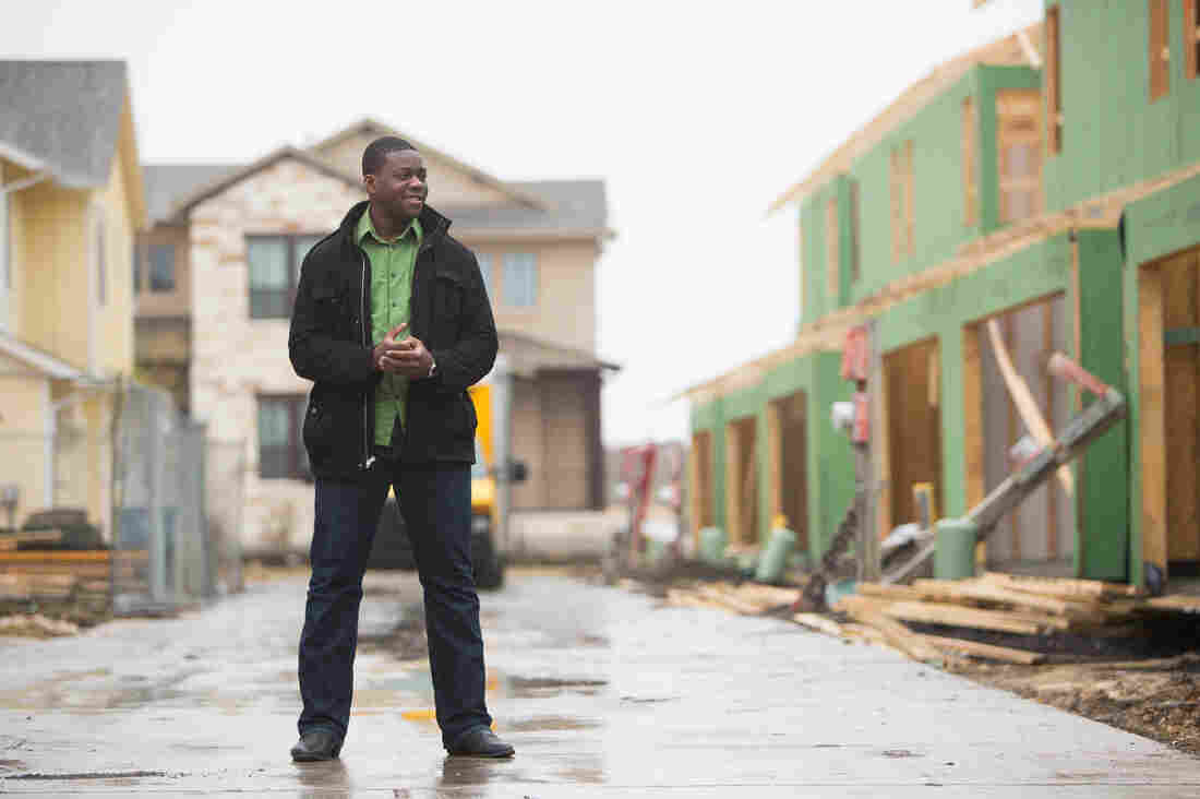 James Nortey, who just finished his term as the president of the Mueller Neighborhood Association, helped craft neighborhood meetings to discuss race relations in the development and the broader east Austin community.
