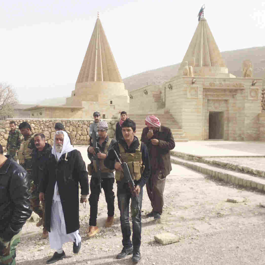 Outmanned And Outgunned, Fighters Defend Yazidi Shrine Against ISIS