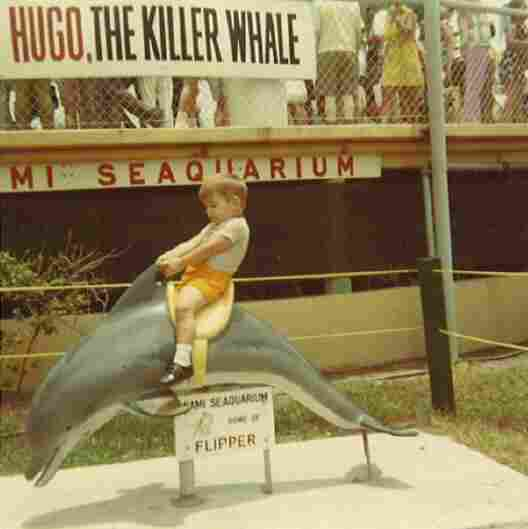 Blanco visits the iconic Miami Seaquarium during the heyday of Flipper.