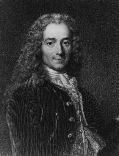 Francois-Marie Arouet, better known as Voltaire (1694-1778). The author and philosopher wrote 'Treatise on Tolerance,' on religious freedom in 1673. It has gained a renewed readership after Islamist extremists carried out deadly attacks last month in Paris.