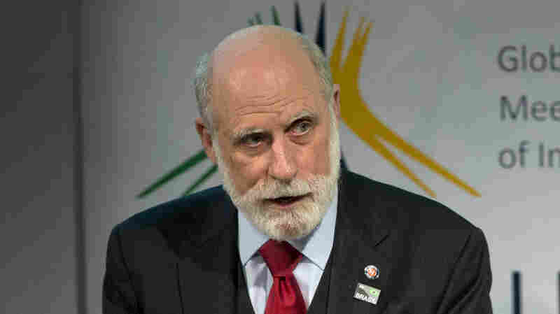 """Vint Cerf in a photo from last year. Cerf is warning of a possible """"digital Dark Ages"""" if the world's data isn't permanently preserved."""