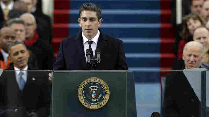 """Poet Richard Blanco says that appearing at President Obama's second inauguration made him feel as if, for the first time, he """"had a place at the American table."""""""