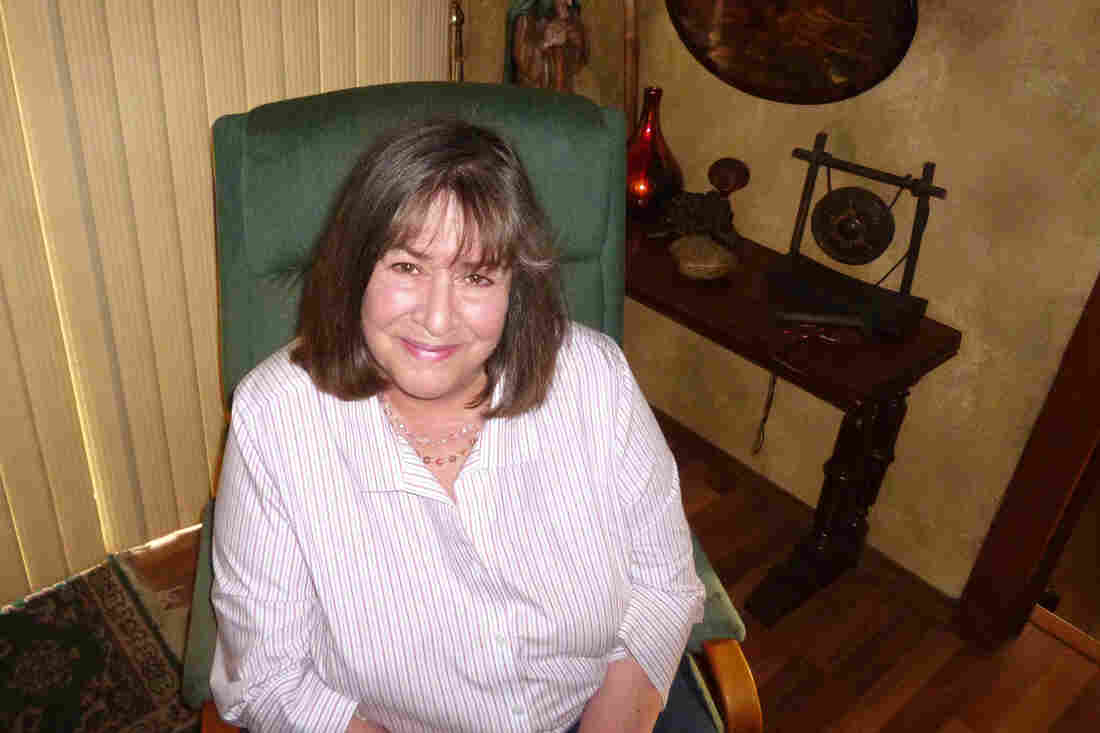 """Chris Newman, seen at her home in Los Molinos, Calif., calls the change she helped get made to lung cancer treatment guidelines a """"small, but very important victory."""""""