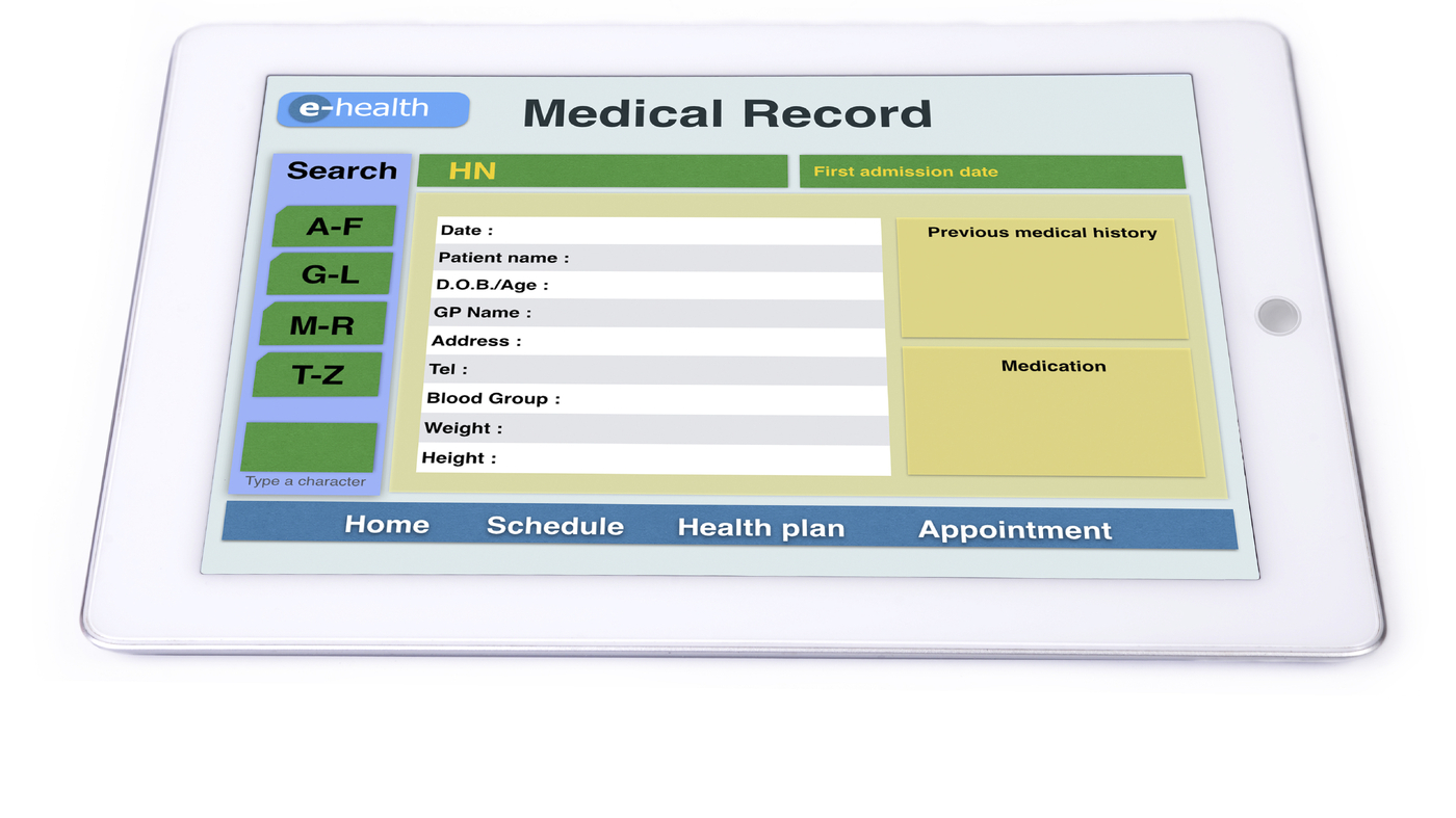 patient medical record Who should own a medical record -- the doctor or the patient.