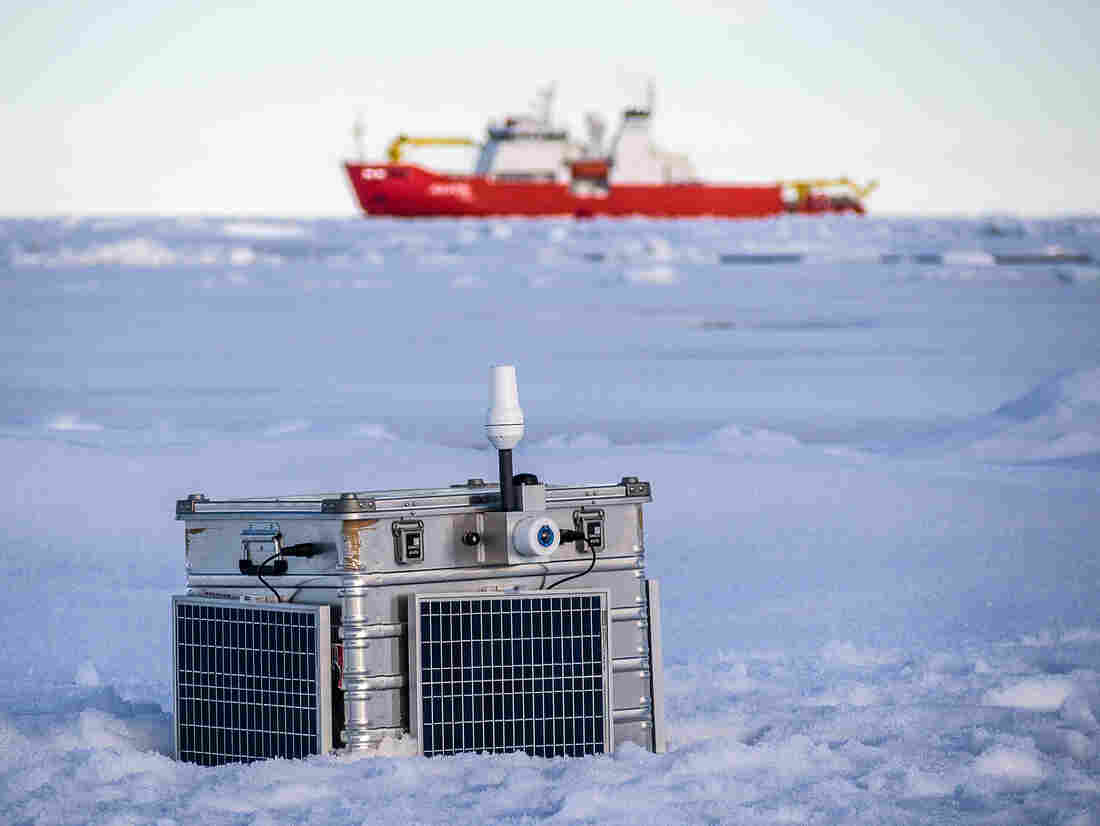 Scientists deployed roughly 100 probes of different types in the Arctic last summer. The robots quietly watched as the ice broke apart.