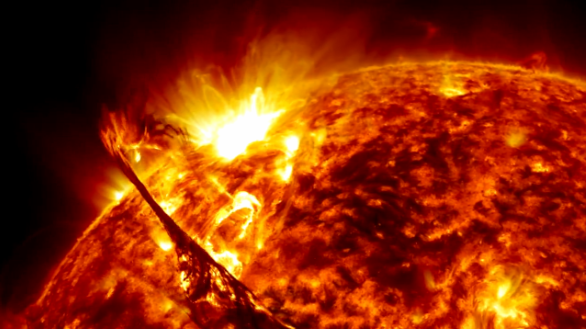 View of the Sun from NASA's Solar Dynamics Observatory.