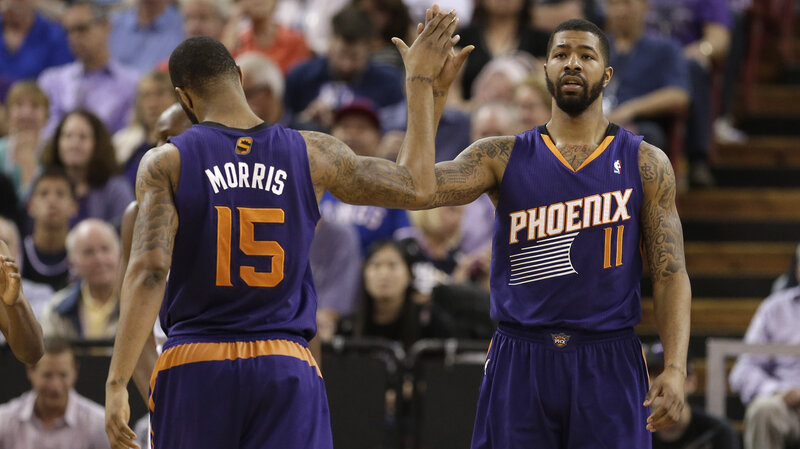 1f6a7009d99 Phoenix Suns  Two Sets Of Brothers Redefine Sibling Rivalry   NPR