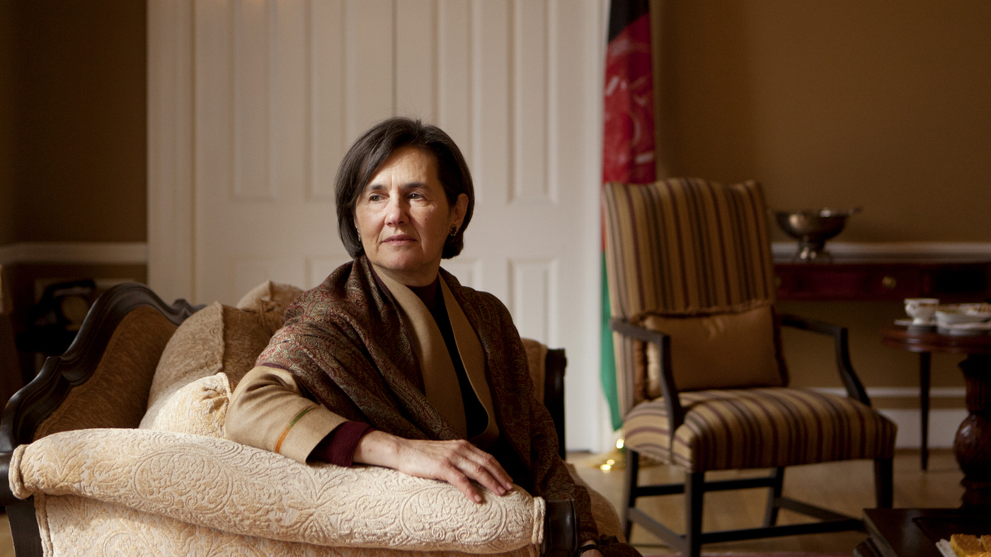 For The First Time An Afghan First Lady Steps Into The