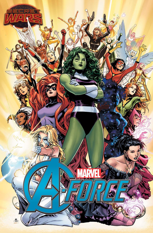 The Woman Behind Marvel's Newest Team Of Heroines