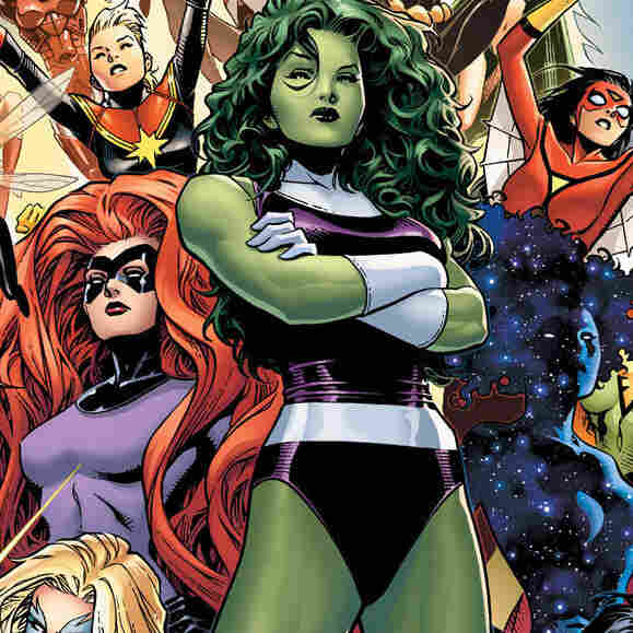 The Woman Behind Marvel's Newest Team Of Heroines