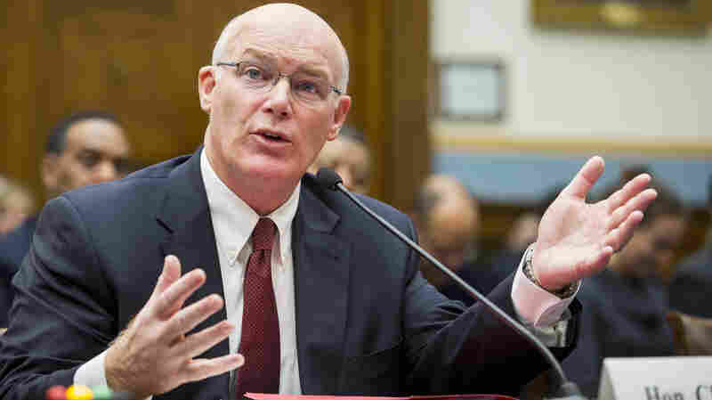 Joseph Clancy has been named the permanent director of the U.S. Secret Service. Clancy, who has been the agency's acting director since last October, is seen here testifying on Capitol Hill last November.