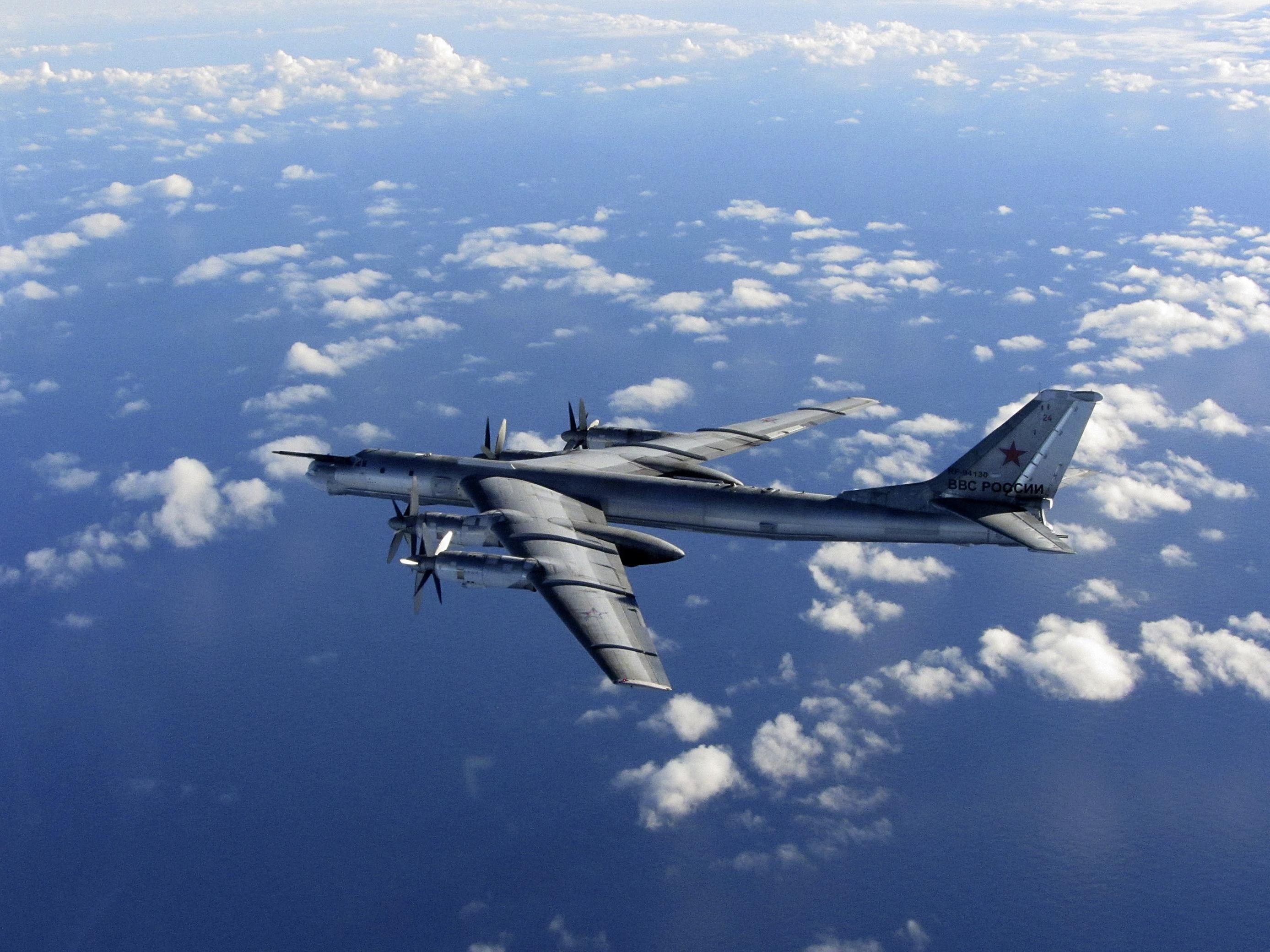 British Fighter Jets Escort Russian Bombers Away From Coast Of U.K.