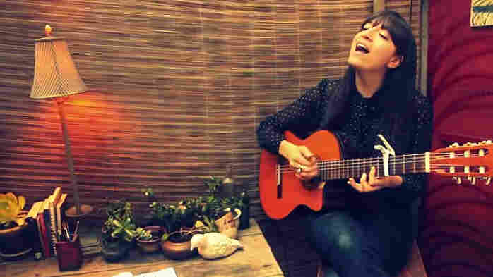 Diana Gameros blew us away with her entry to NPR's Tiny Desk Concert Contest.