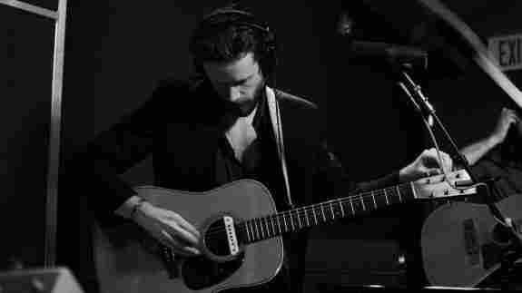 Father John Misty performs live on KCRW.
