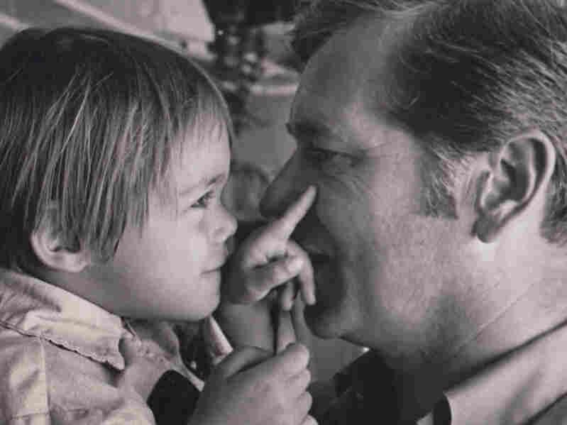 Bill Jones with his son, Aaron.