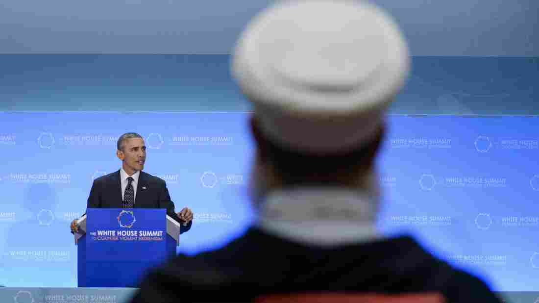 President Obama speaks to an audience of international leaders and religious figures Thursday at the White House Summit on Countering Violent Extremism, at the State Department.