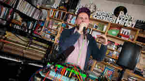 Tiny Desk Concert with Dan Deacon on Feb. 12, 2105.