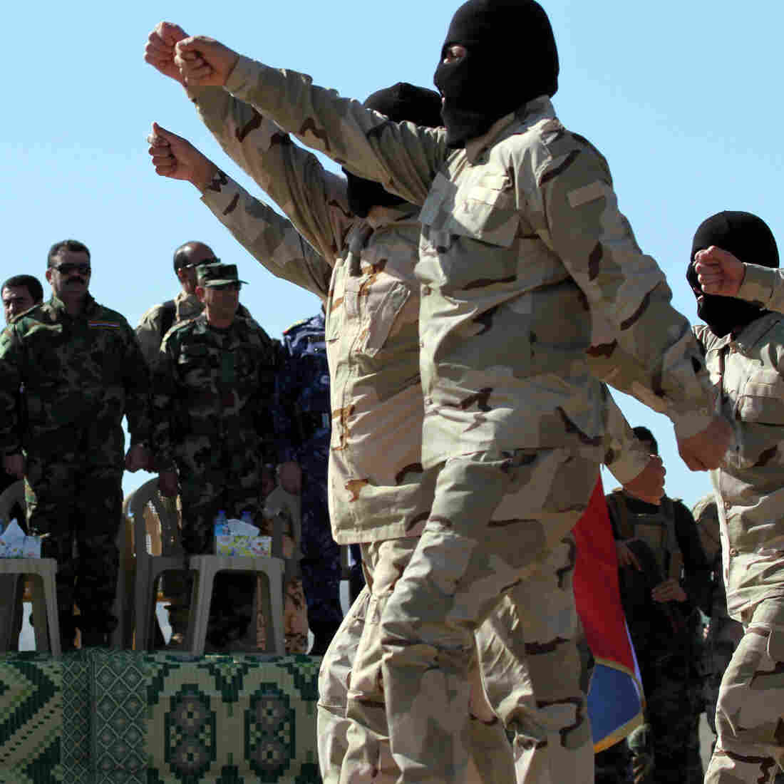 Iraq is preparing to take back Mosul, a senior U.S. military official says. Earlier this month, government-backed Sunni Arab tribesmen who've been training to fight ISIS marched northeast of Mosul, in northern Iraq.