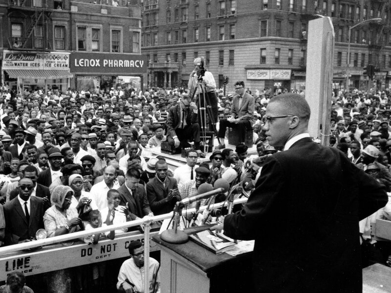 Image result for malcolm x speaking