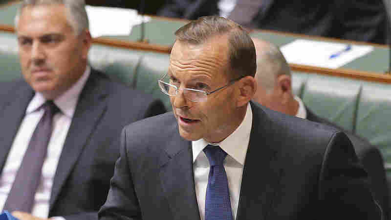 Australian Prime Minister Tony Abbott speaks about his nation's new anti-extremism strategy on Monday in Canberra, Australia.