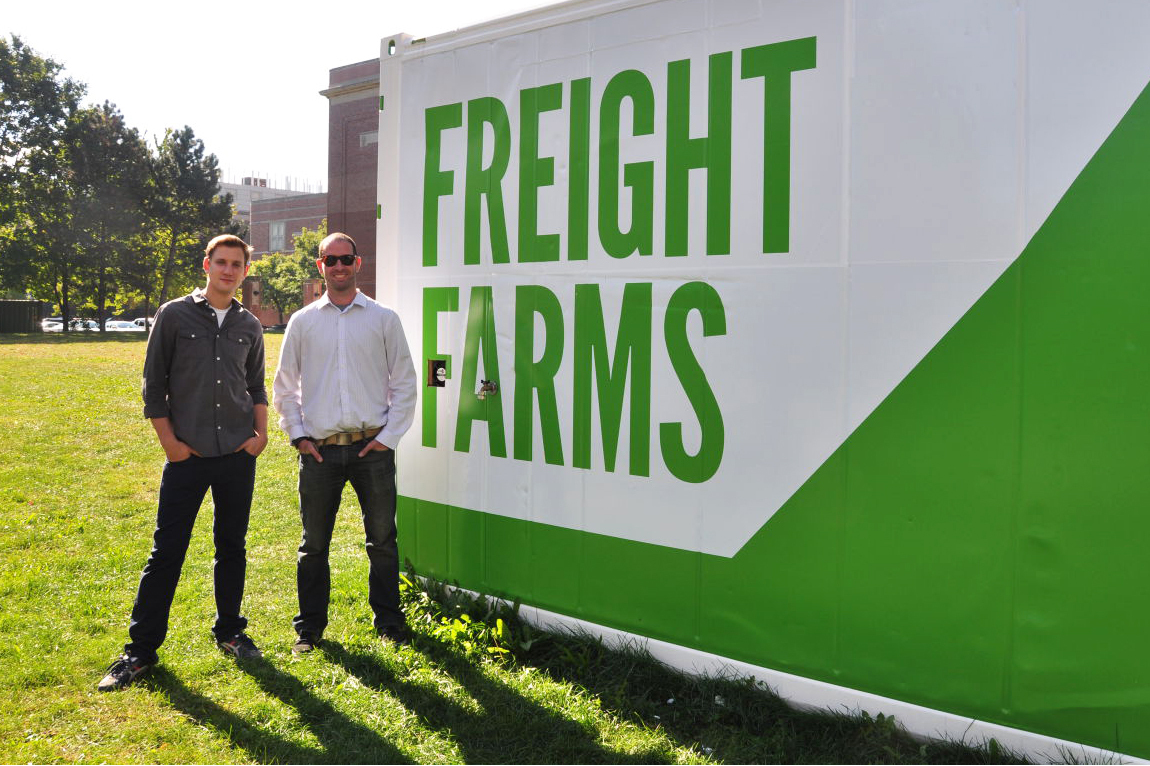 Freight Farms: How Boston Gets Local Greens, Even When Buried In Snow