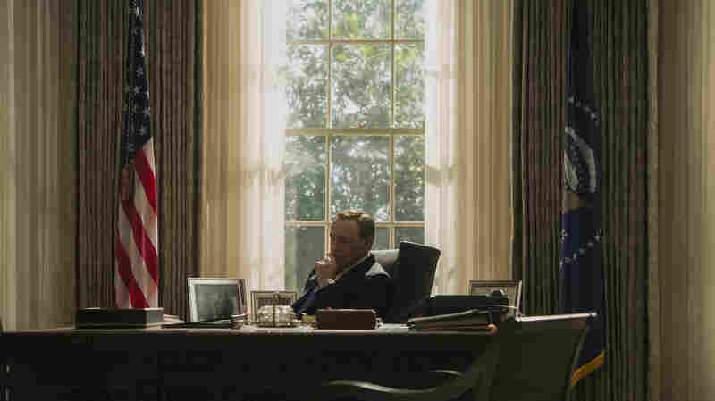 Kevin Spacey's President Frank Underwood is embattled and often frustrated in the third season of Netflix's House of Cards.