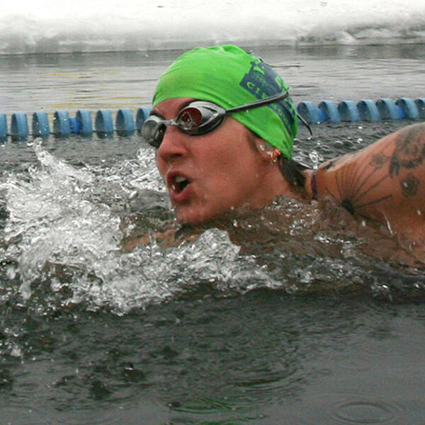 'Cold Actually Feels Good' At The U.S. Winter Swimming Championship