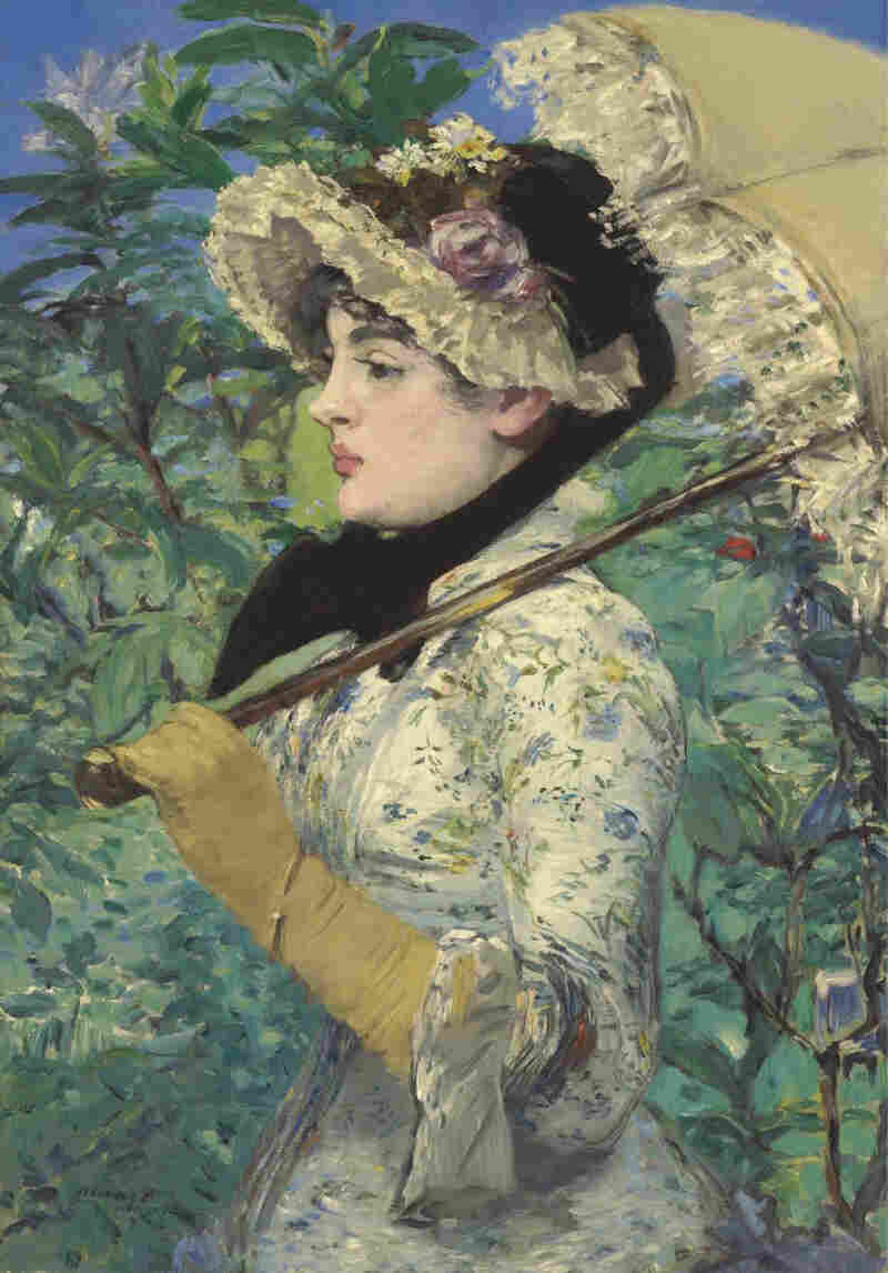 Spring, Manet's 1881 painting of actress Jeanne Demarsy, was recently sold to the J. Paul Getty Museum for $65 million.