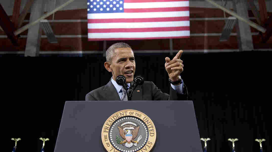 President Obama speaks about immigration at Del Sol High School in Las Vegas in November, after taking a series of executive actions.