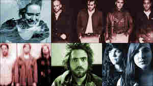 Top row, left to right: Sóley, Patrick Watson; Middle row: Metz, Summer Cannibals; bottom: Lord Huron