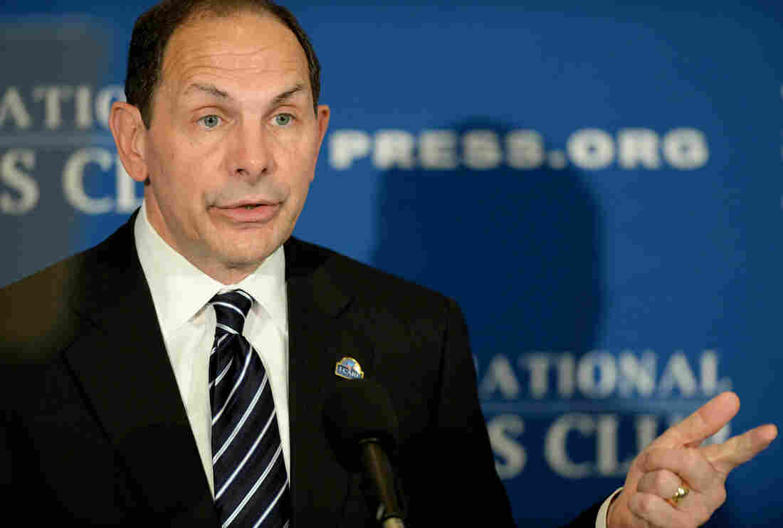 Secretary of Veterans Affairs Robert McDonald, seen here last November, has acknowledged that he was wrong when he said he had been in the special forces.