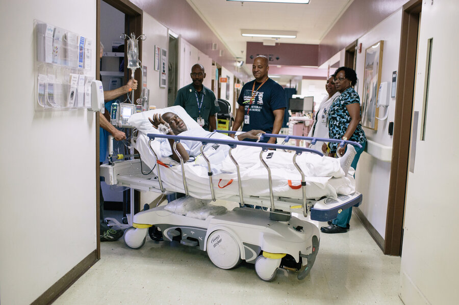 At VA Hospitals, Training And Technology Reduce Nurses\' Injuries : NPR