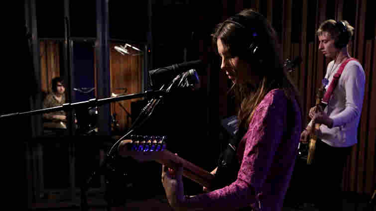Wolf Alice performs live on KCRW.