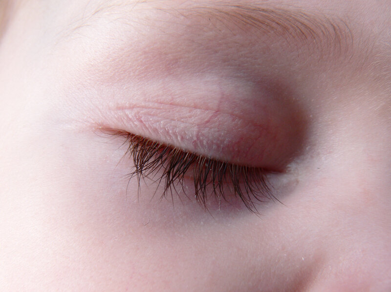 Eyelashes Grow To Just The Right Length To Shield Eyes Shots